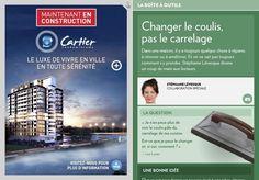 Changer le coulis, pas le carrelage - La Presse+