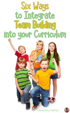 Six Ways to Integrate Team Building into Your Curriculum: this post lists 6 different Team Building Activities and ideas on fitting curriculum ideas into these games This post includes a freebie for one of my favorite games: Countdown! Team Building Activities, Teaching Activities, Teaching Resources, Teaching Ideas, Leadership Activities, Teaching Strategies, Creative Activities, Marketing Strategies, Marketing Plan