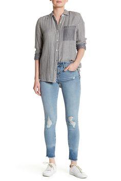 Decon Raw Hem Skinny Jean