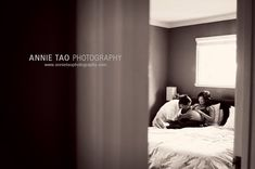 Private moment captured. why didnt i do one when i was preggy? theres one on my honeymoon though. via annie tao.