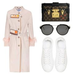 """""""Untitled #22"""" by thedreamer-tim on Polyvore featuring Prada, Louis Vuitton, Anine Bing and Christian Dior"""