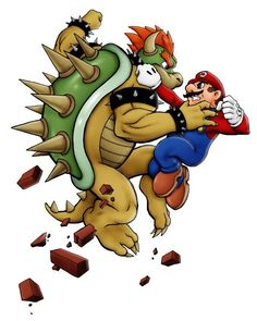 Mario vs. Bowser - Tom Pollock Jr.