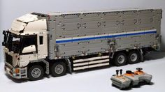 LEGO Set MOC-1389 - Wing Body Truck