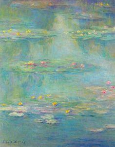 Claude Monet  Waterlilies  1908
