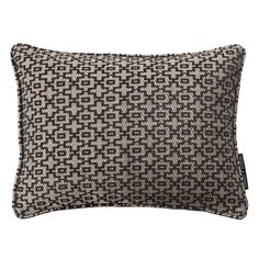 Mansour Moroccan Style Charcoal Rectangular Cushion