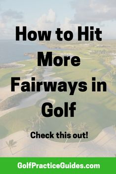 Golf tips to hit more fairways. Golf lessons, golf swing tips Golf Practice, Golf Chipping, Golf Videos, Golf Exercises, Golf Lessons, Golf Tips, Golf Ball, Golf Clubs, Drill