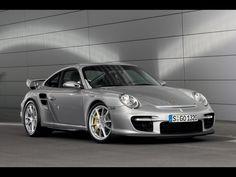2008 Porsche 911 GT2 (997) 530 bhp. 0-60 mph in 3.6 seconds