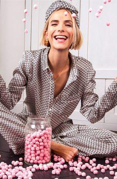 YOLKE | Clementine Silk Pyjamas Long