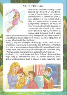 52 de povesti pentru copii.pdf Peter Pan, Kids And Parenting, Fun Projects, Winnie The Pooh, Disney Characters, Fictional Characters, Preschool, 1st Grades, Winnie The Pooh Ears