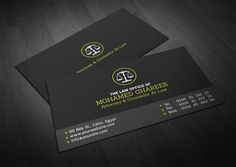Business Cards for Lawyers and Attorneys