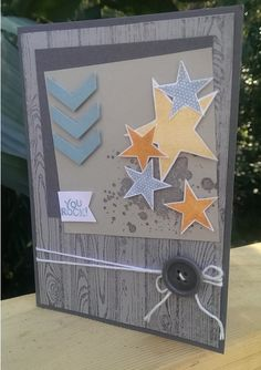 gorgeous grunge, simply stars, hardwood background, chevron punch