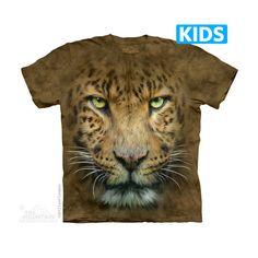 The Mountain - Big Face Leopard Kids T-Shirt, $16.00 (http://www.themountain.com/big-face-leopard-kids-t-shirt/)
