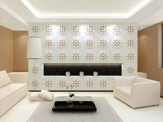 Minimal yet chic contemporary living room