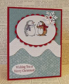 Best of Snow Stampin' Up!