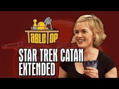 TableTop Extended Edition: Star Trek Catan (Wil Wheaton, Jeri Ryan, Kari Wahlgren, Ryan Wheaton) - YouTube