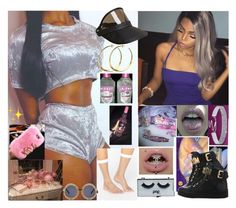 """""""VideoShoot 03"""" by melaninmonroee ❤ liked on Polyvore featuring ASOS, POPbeauty, Givenchy, Chanel, Moschino and Rebecca Norman"""