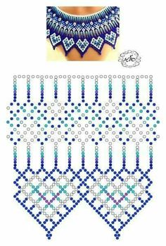 Foto Natali Khovalko - Do it my self Diy Necklace Patterns, Beaded Bracelet Patterns, Beaded Bracelets, Embroidery Bracelets, Beaded Necklace, Beading Patterns Free, Beading Tutorials, Seed Bead Jewelry, Bead Jewellery