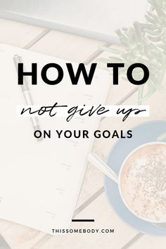 Tend to give up on your goals? If you're prone to throwing in the towel here are a few tips to help you stay focused and committed. Personal Goal Setting, Personal Goals, Setting Goals, Reaching Goals, Achieving Goals, Self Development, Personal Development, Steps To Success, Throw In The Towel