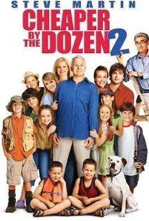 Cheaper by the Dozen 2 the remix...according to Mr. Seetoo this will be me and my husband who is a dr and our 12 adopted haitian kids :)...No really I LOVE THIS MOVIE..what could be better than Bonnie hunt and steve martin