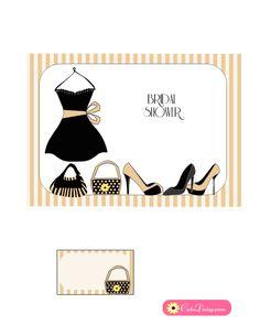 little-black-dress-bridal-shower-invitation-beige.png (612×792)