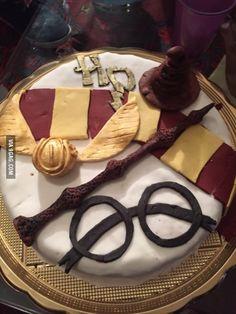 Made this cake for my boyfriend's birthday :)