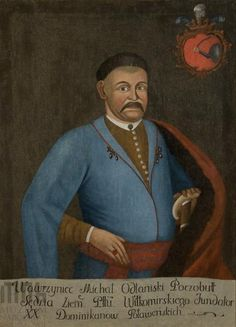 Portret Wawrzyńca Michała Odlanickiego Poczobutta, sędziego ziemskiego (ok.1640-1689)