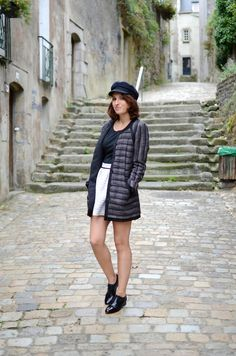 French fashion blogger Manon Anchor wearing some of our Oxford shoes : http://www.melvin-hamilton.fr/amy-4-crust-black.html