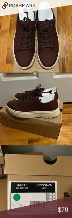 1cb1116664835 Dr Martens Dante Ajax size UK7 Brand New still in original packaging Dante  in Ajax color