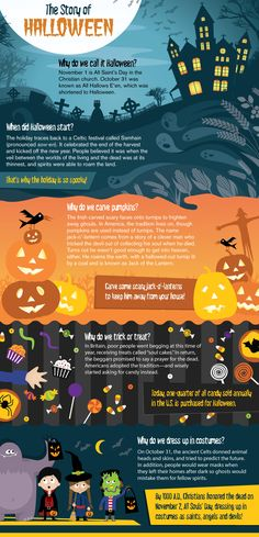 Learn the history of Halloween with these fun facts. For tips and tools, check out http://www.pumpkinmasters.com/.