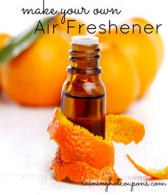 How To Quickly Make Your Own Air Freshener