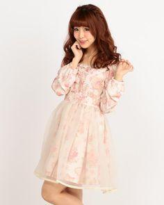 ☆WEB LIMITED☆エンジェルスウィーツワンピース 渋谷109で人気のガーリーファッション リズリサ公式通販