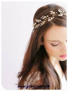 Could go simple floral headband?