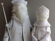 Создаем Деда Мороза и Снегурочку. Часть 1 - Ярмарка Мастеров - ручная работа, handmade