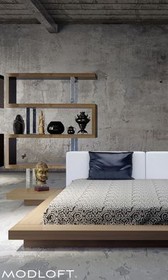 These 12 Quick Decorating Tips Will Add Exquisite Style to Your Home Cool Bunk Beds, Kids Bunk Beds, Bunk Bed Designs, Bed Mattress, Latex Mattress, Minimalist Decor, Queen Beds, Platform Bed, Small Rooms