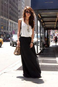 more long skirts
