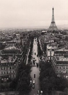 The First Time I Saw Paris by Peter Miller  By selphie10  There's something about black and white pictures that takes my breath away