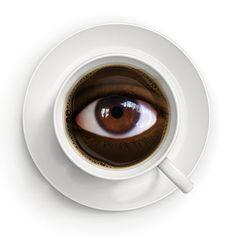 Necesito un café (Ubé 2012)  (foto base:  Evgeniy Ivanov)