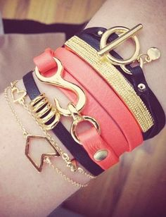 Arm candy ...
