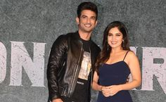 Earlier this week, Bhumi posted a eulogy for her Sonchiriya co-star Sushant Singh Rajput Farewell Note, World News Today, Sushant Singh, Leather Jacket, Entertainment, Stars, Women, Studded Leather Jacket, Leather Jackets