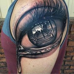 Eye Crying Blood Tattoo Top 10 unique crying tattoos