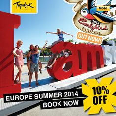 Save on Topdeck 2014 Europe Summer Trips Student Flights, Go Your Own Way, Travel Tours, Summer Travel, Touring, Trips, Youth, Deck, Europe