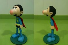 Superlopez figura goma eva by anapeig.deviantart.com on @deviantART