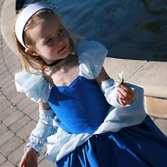 Cinderella dress up costume. by petitepeapods on Etsy, $100.00