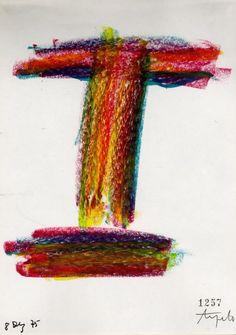 Ângelo de Sousa - 1975 - Desenho sobre papel - 20,7x15cm