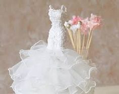 Image result for how to make 1/12th scale wedding dress and couture