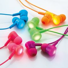 Transform your music hours into a glowing flash of LEDs and high quality sound with the Flash Bud Earbuds.