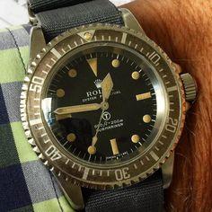 1974 Rolex MilSub 5513