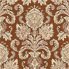 Thibaut Cypress - Sabeen - Wallpaper - Brown