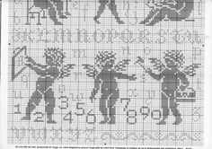 ru / Foto # 30 - g - Crochet Ornaments, Christmas Crochet Patterns, Crochet Snowflakes, Crochet Christmas, Cross Stitch Freebies, Cross Stitch Charts, Cross Stitch Patterns, Dishcloth Knitting Patterns, Knit Dishcloth