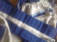 Набор мешочков и пенал для первоклассника Вальдорфской школы
